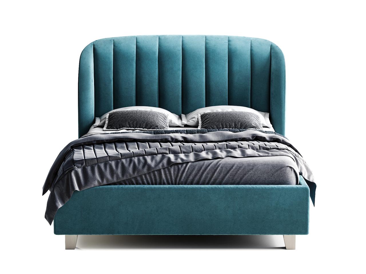 Кровать tulip (the idea) голубой 192x120x230 см. фото