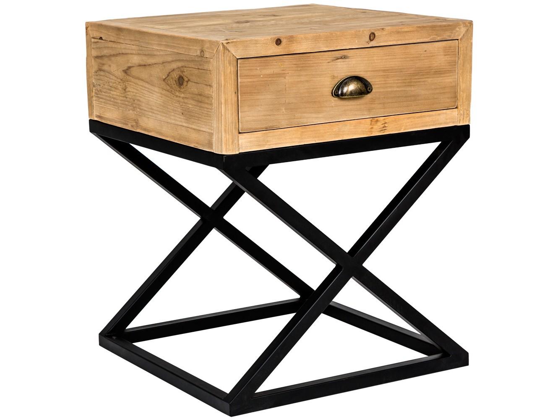 Тумба «престо» (object desire) коричневый 50x60x50 см. фото