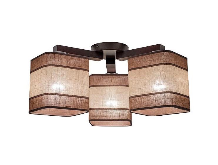 Накладной светильник nadia (eurosvet) коричневый фото