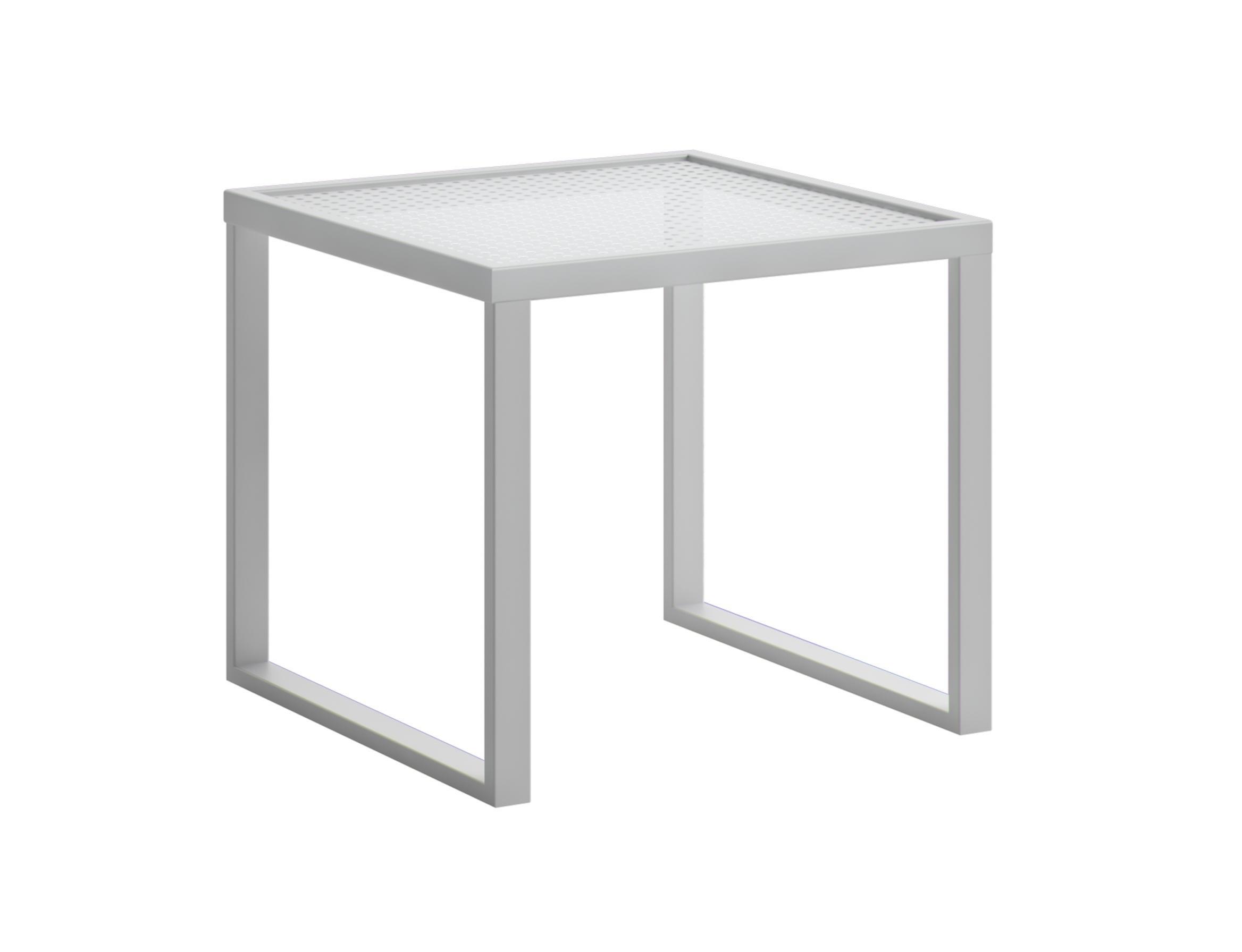 Стол приставной qubik (atmosphera) белый 45x45x45 см.