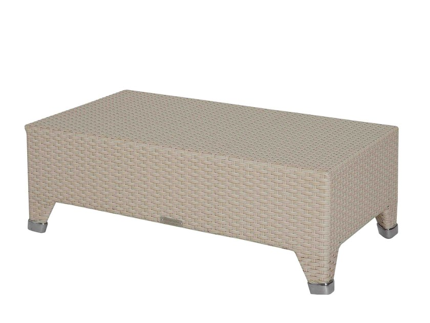 Стол кофейный barbados (atmosphera) белый 90x38x50 см.