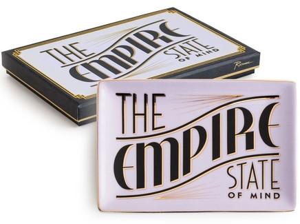 "Декоративный поднос ""Empire state of"""