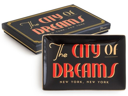 """Декоративный поднос """"City of dreams"""""""