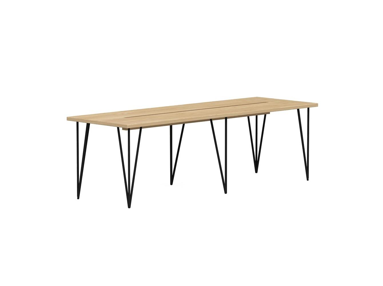 Стол для переговоров (woodi) бежевый 240.0x75.0x80.0 см. фото