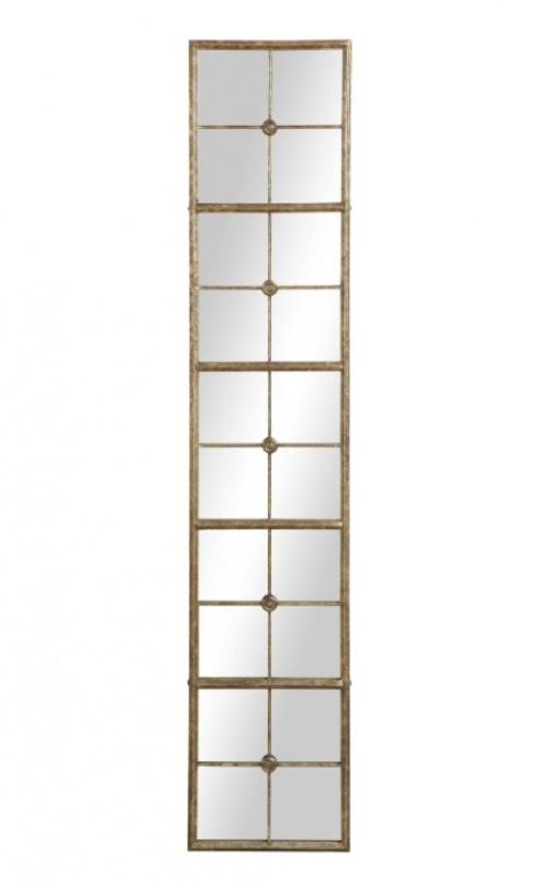 Зеркало EuropeНастенные зеркала<br>Очень красивое вытянутое зеркало. Металлическая рама создает на стекле классический рисунок. Идеальный вариант, чтобы повесить в простенке между окнами, увеличив и усложнив, таким образом, пространство.<br><br>Material: Металл<br>Width см: 34<br>Height см: 165