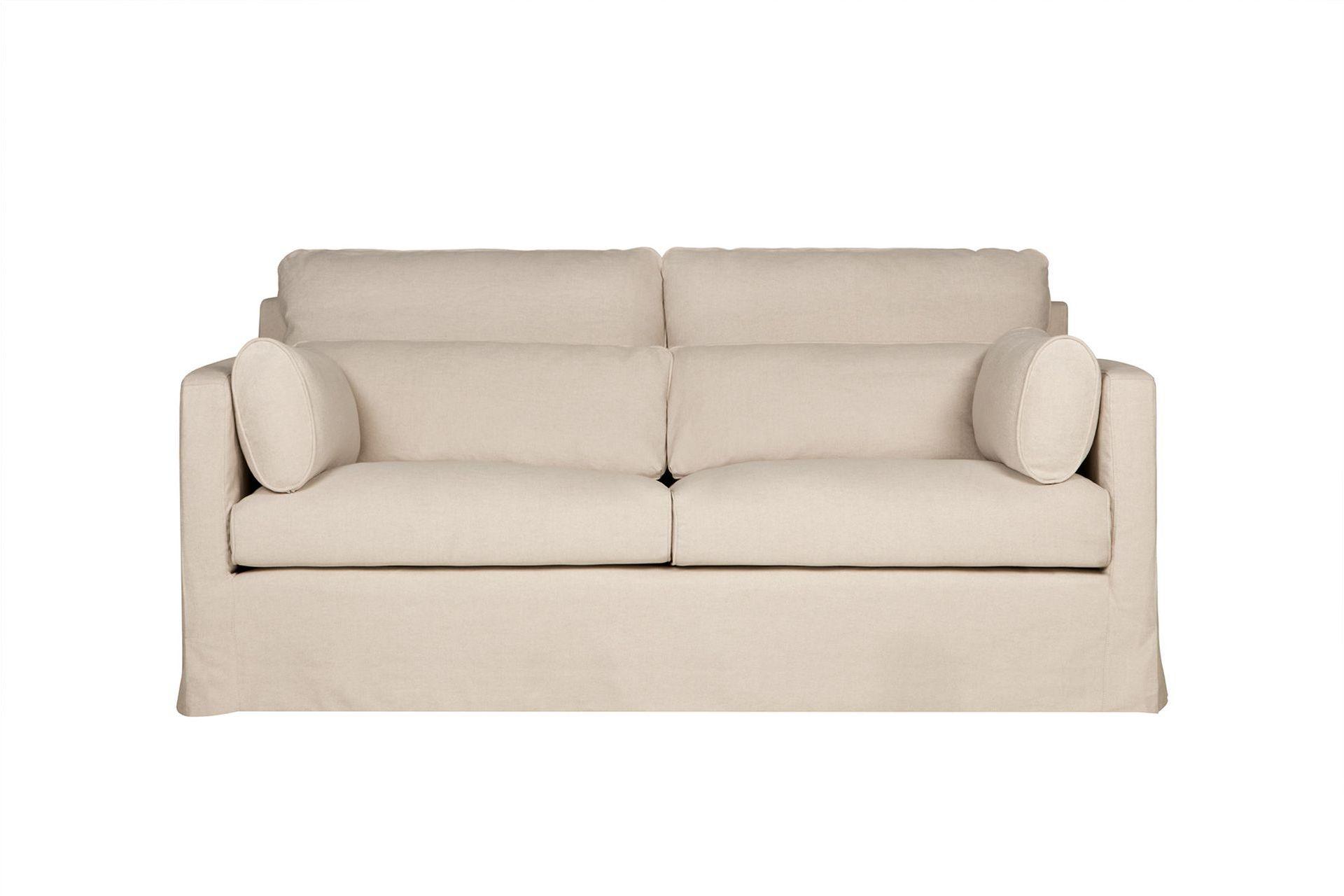 """Купить Диван """"sara"""" (Sits) бежевый текстиль 180x82x100 см. 86838 в интернет магазине. Цены, фото, описания, характеристики, отзывы, обзоры"""