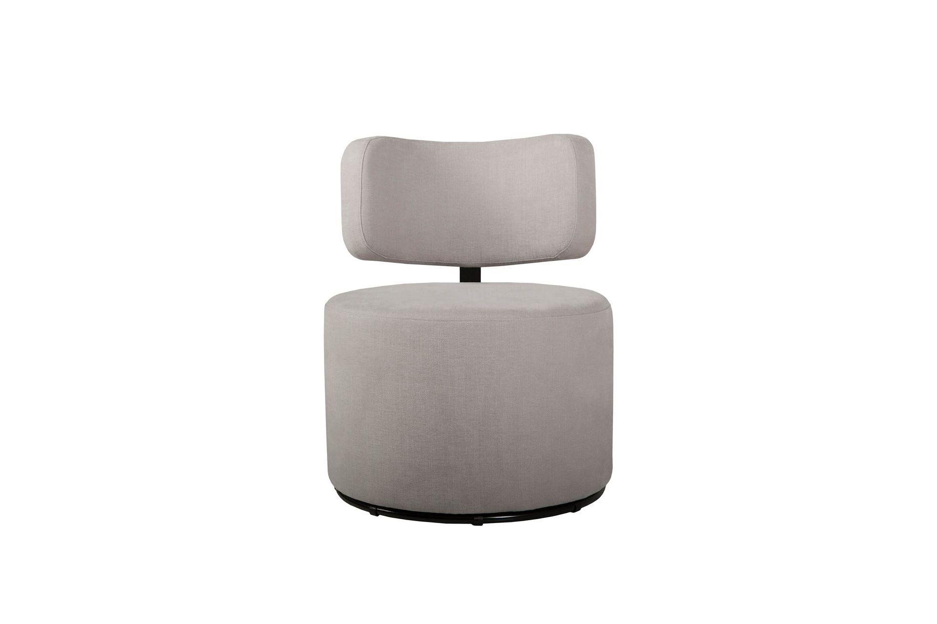 Кресло MokkaПолукресла<br>Это круглое сиденье выглядит как пуф, но спинка оптимальной формы делает этот предмет мебели изящным креслом. Благодаря небольшим габаритам, кресло легко носить с собой и перемещать с одного места на другое.