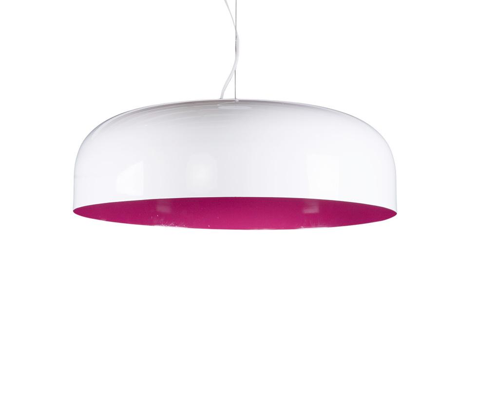 Подвесной светильникПодвесные светильники<br>Женский пол не останется равнодушным при виде этой замечательной люстры. На первый взгляд скромно и просто, но сочетание контрастных цветов в краске и тяжелый металлический материал – настоящая находка для дизайнера.<br><br>Material: Металл<br>Length см: 60.0<br>Width см: 60.0<br>Depth см: None<br>Height см: 20.0<br>Diameter см: None