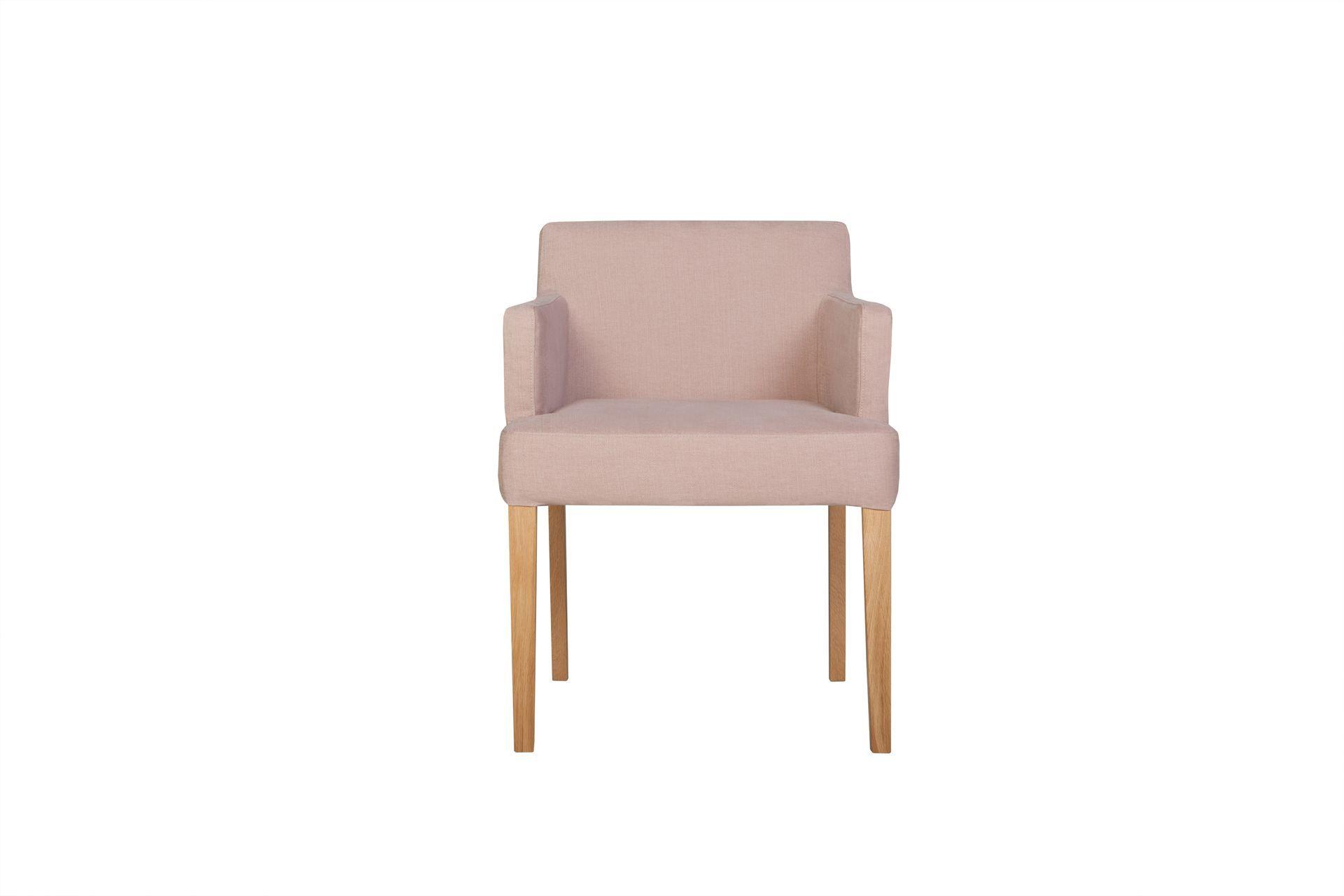 Кресло linn (sits) розовый 57x74x57 см.