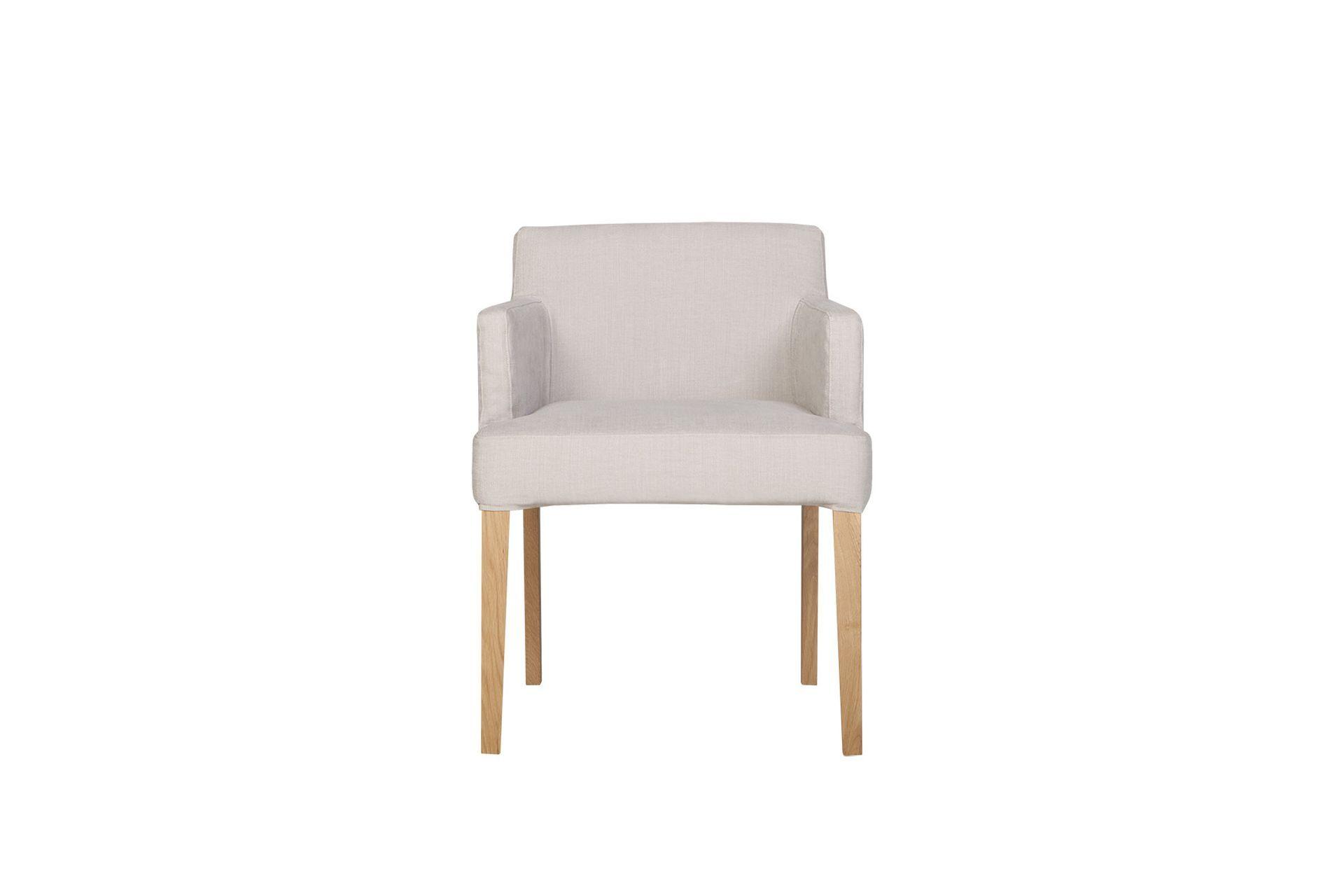 Кресло linn (sits) серый 57x74x57 см.