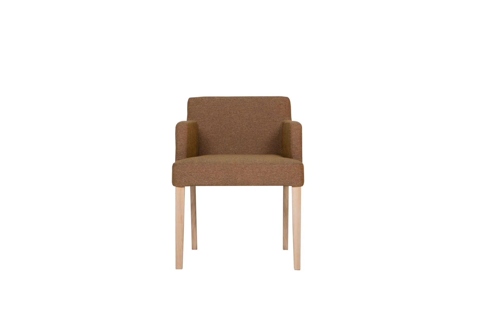Кресло linn (sits) коричневый 57x74x57 см.