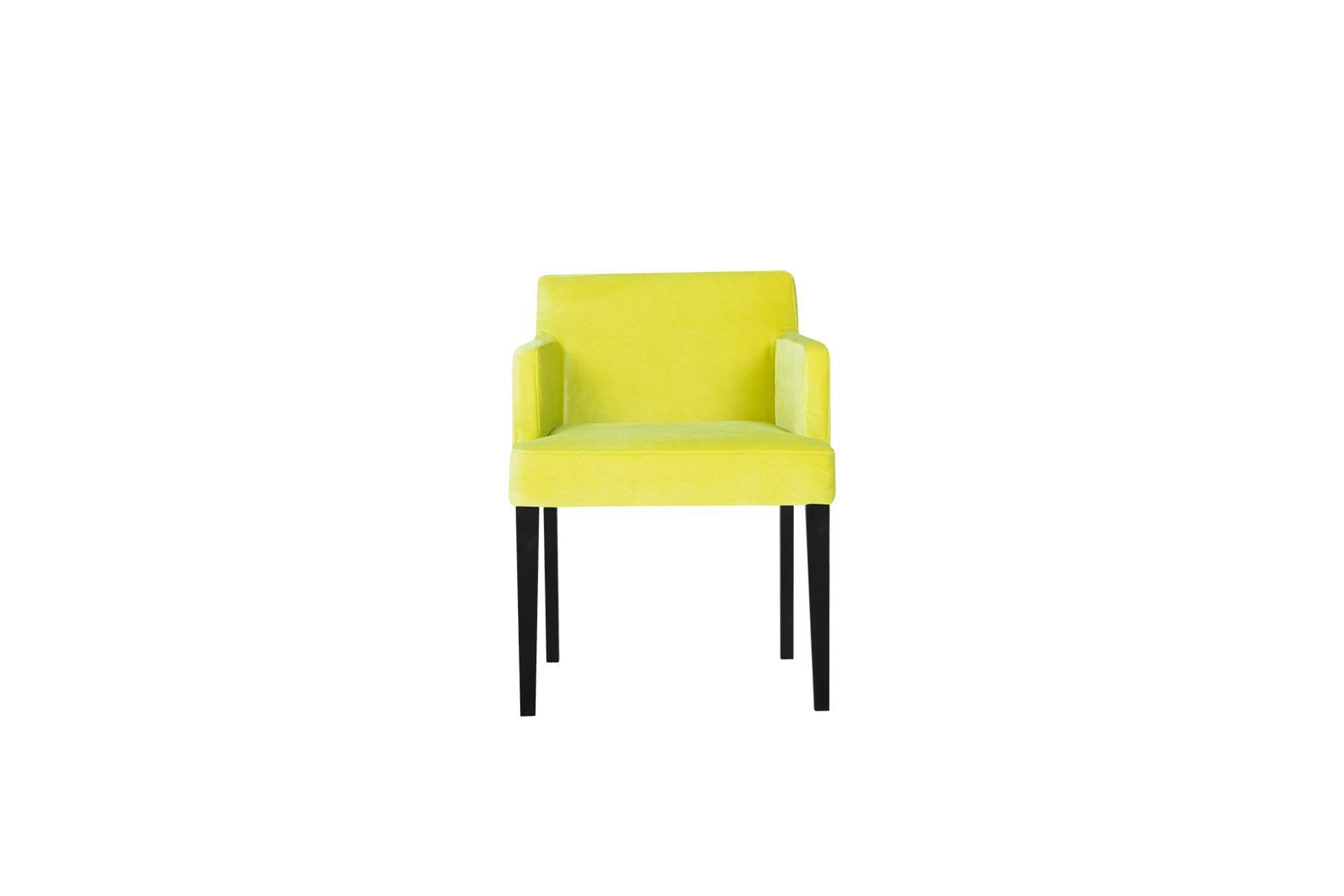 Кресло linn (sits) желтый 57x74x57 см.