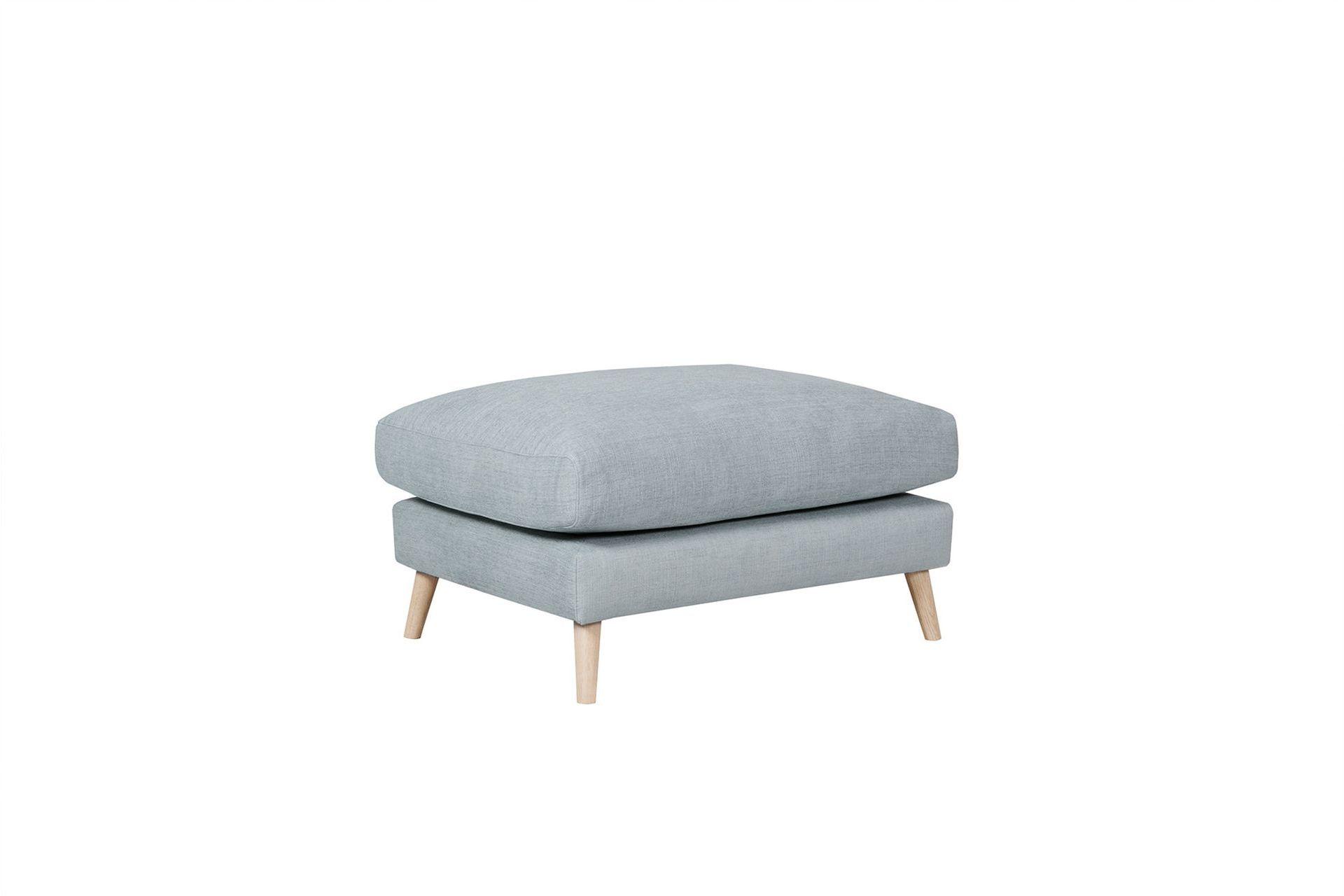 Пуф klara (sits) серый 90x44x70 см.