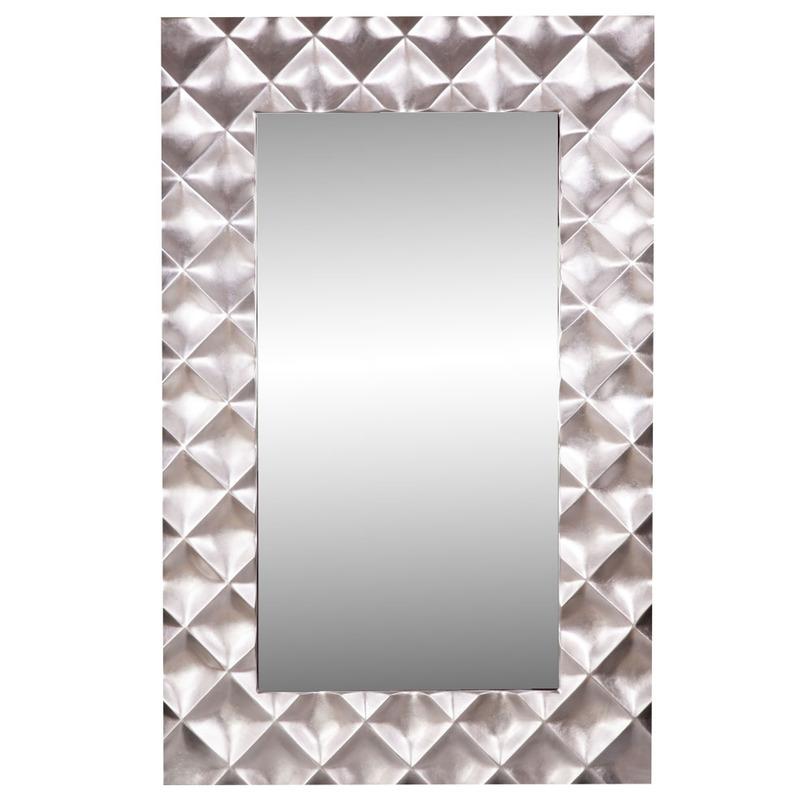 ЗеркалоНастенные зеркала<br>В это зеркало хочется не только смотреться , но и любоваться им. Оно подарит вам необыкновенный всплеск эмоций и создаст утонченную изысканную атмосферу.<br><br>Material: Металл<br>Width см: 134.6<br>Depth см: 7.6<br>Height см: 209.6