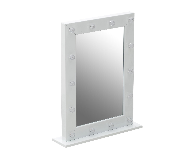 Зеркало настенное с LED
