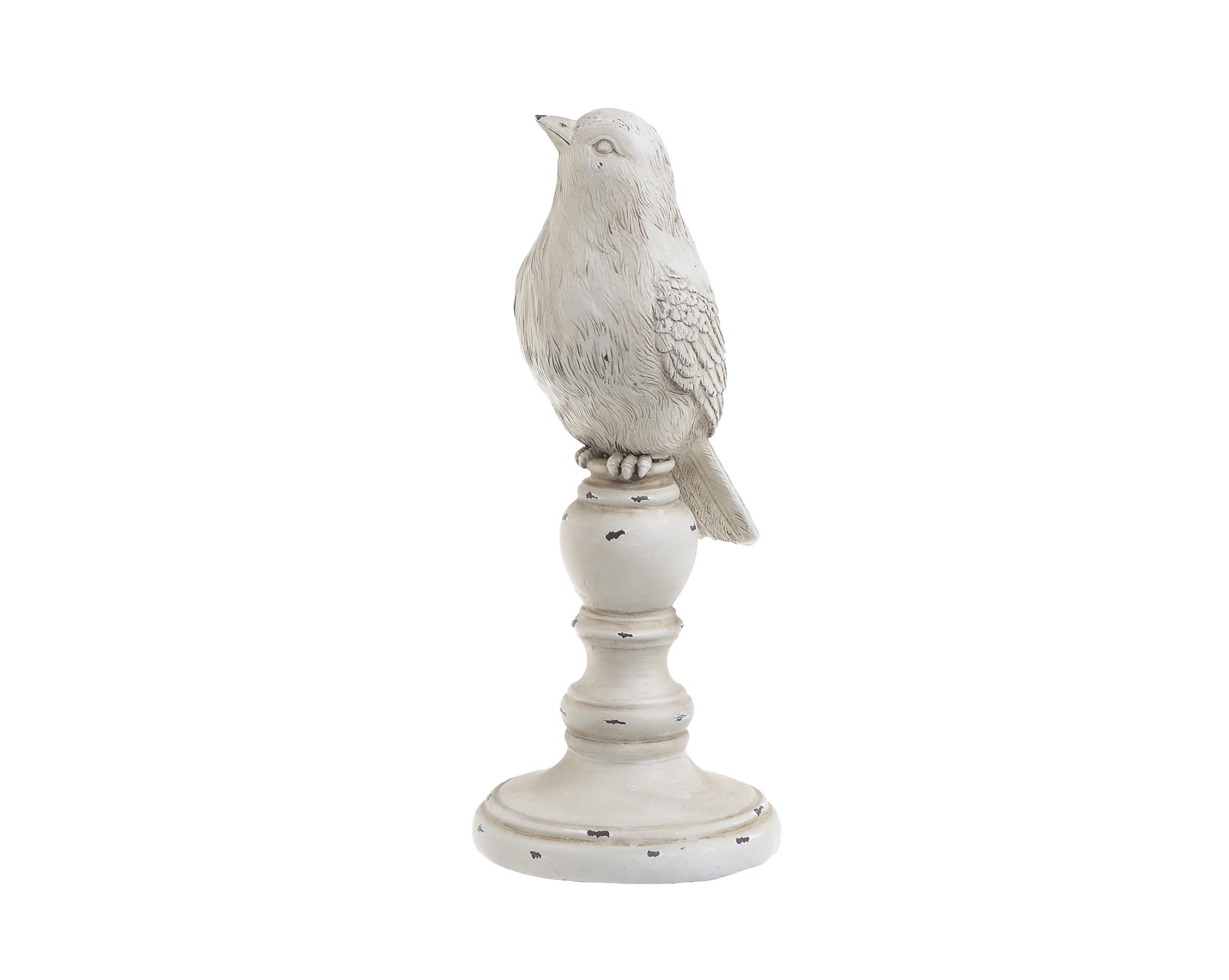Декор настольный птичка