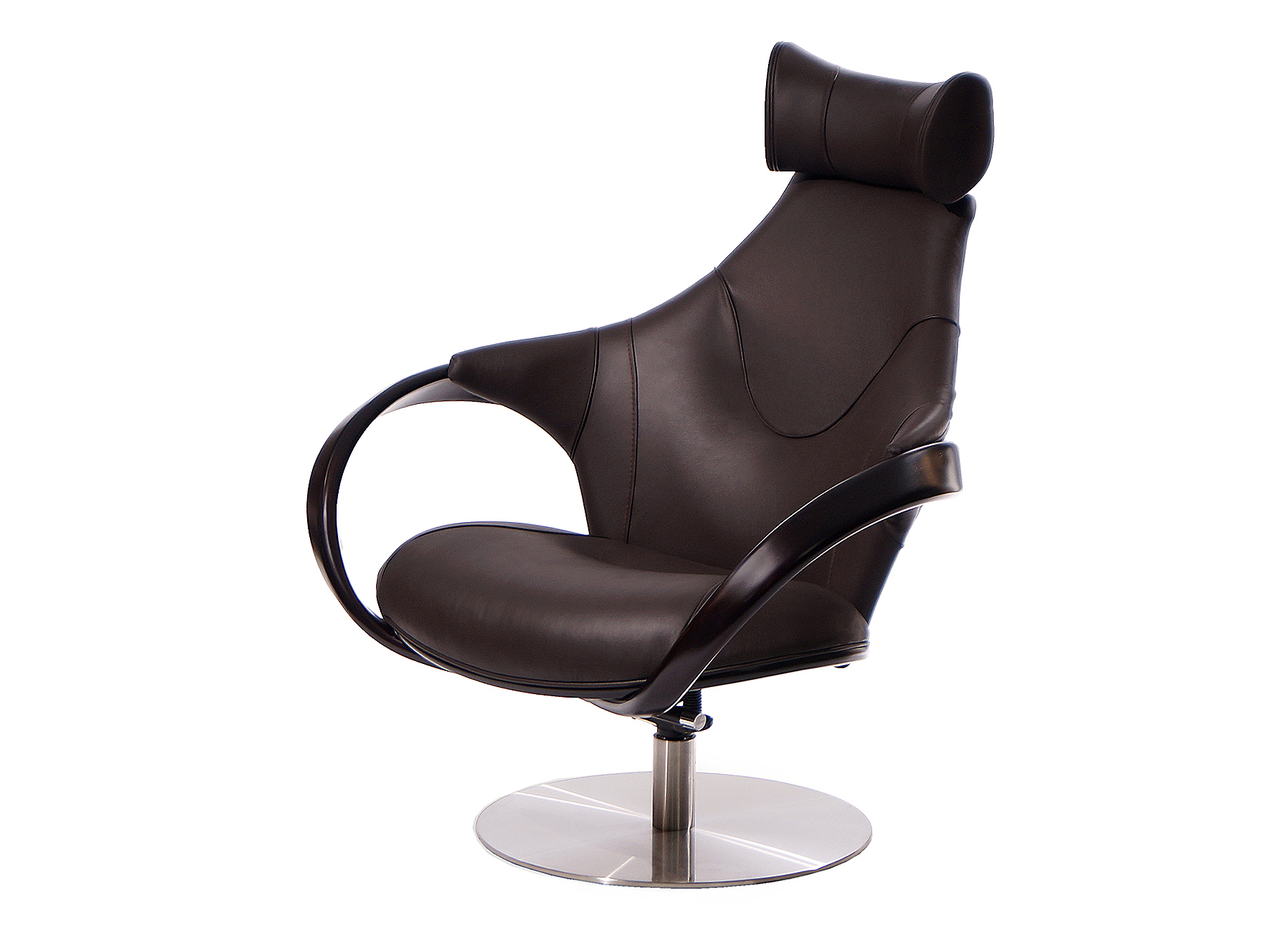 Кресло apriori r (actualdesign) коричневый 85.0x110.0x102.0 см. фото