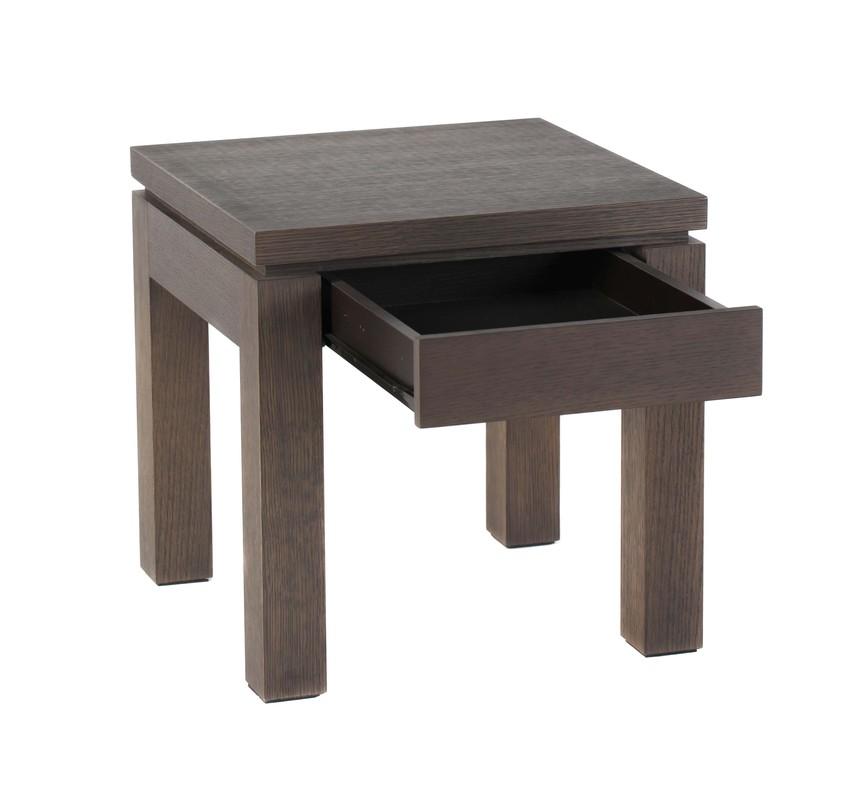 Стол журнальный DouglasЖурнальные столики<br>&amp;lt;div&amp;gt;Функциональный и миниатюрный - так можно охарактеризовать журнальный столик &amp;quot;Douglas&amp;quot;. Создается впечатление, что из деревянного кубика дизайнеры аккуратно вырезали ножки- бруски, а для удобства под столешницей разместили компактный выдвижной ящичек. &amp;quot;Douglas&amp;quot; за счет своего размера с легкостью может превратиться в прикроватную тумбу.&amp;lt;/div&amp;gt;&amp;lt;div&amp;gt;&amp;lt;br&amp;gt;&amp;lt;/div&amp;gt;Компактный журнальный столик, под столешницей которого спрятался выдвижной ящик. Темное дерево покрыто лаком.<br><br>Material: Дерево<br>Length см: None<br>Width см: 50<br>Depth см: 50<br>Height см: 45
