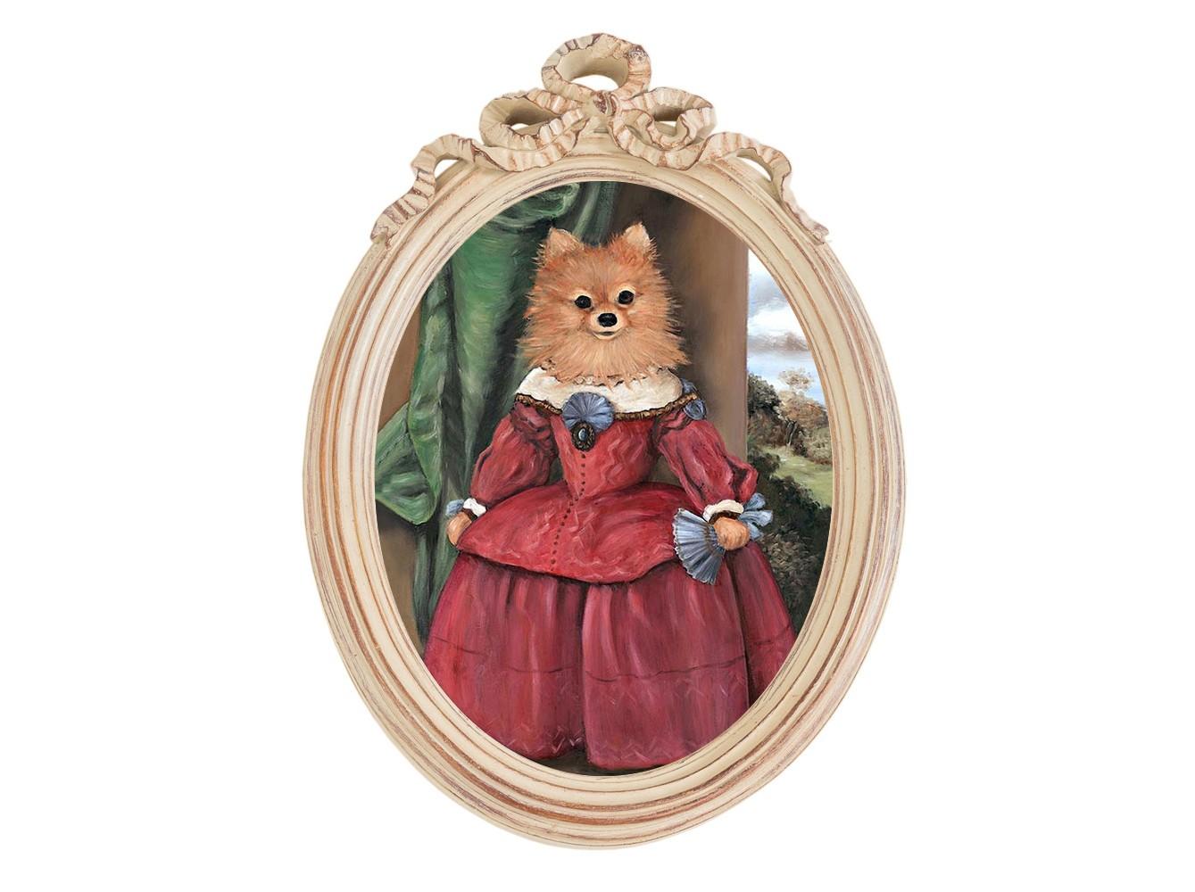 Репродукция «музейный экспонат», версия 31 в картинной раме «офелия» (object desire) мультиколор 30.5x43.0x4.0 см. фото
