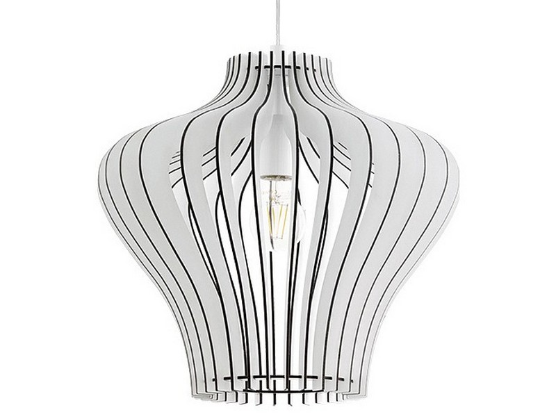 Подвесной светильник CossanoПодвесные светильники<br>Мощность: 60W Цоколь: E27Общее кол-во ламп: 1 (нет в комплекте)Материал: дерево, сталь