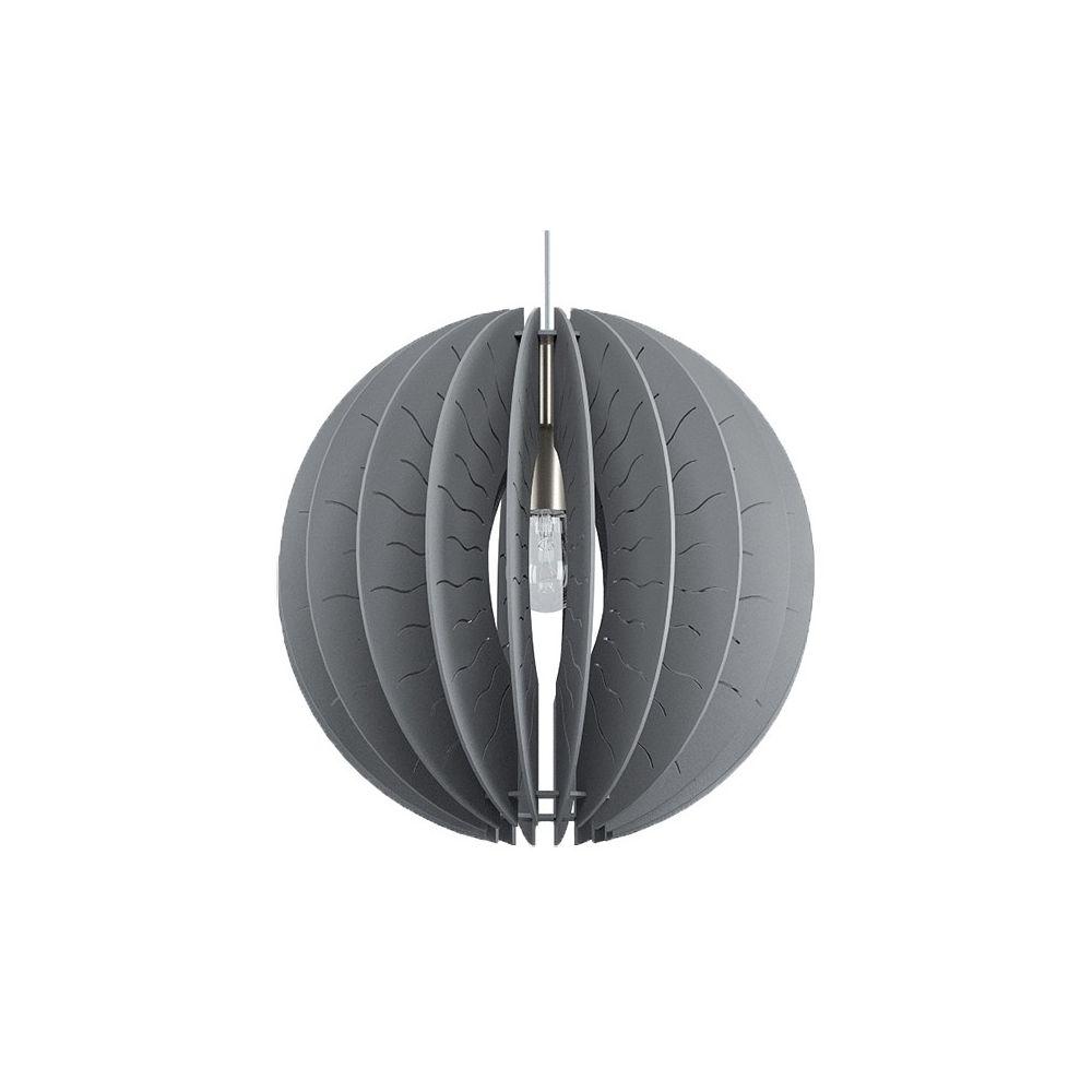 Подвесной светильник fabessa (eglo) серый 110 см. фото