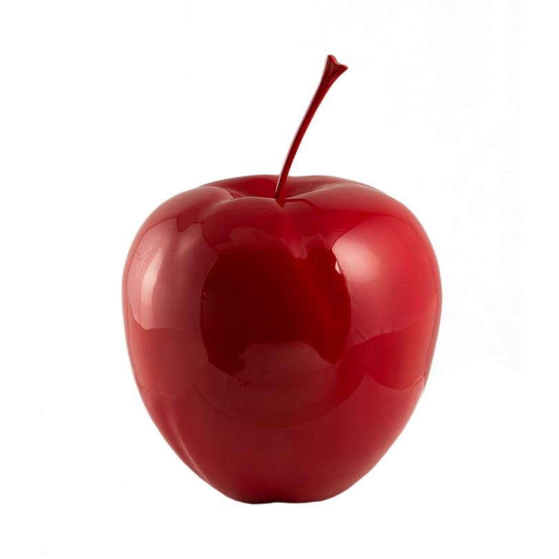 Декор Apple RedСтатуэтки<br>Жизнерадостный интерьерный декор в виде пятикратно увеличенного яблока. Красная глянцевая поверхность переливается бликами, придавая пространству вокруг себя несколько сюрреалистичный вид.<br><br>Material: Пластик<br>Высота см: 47