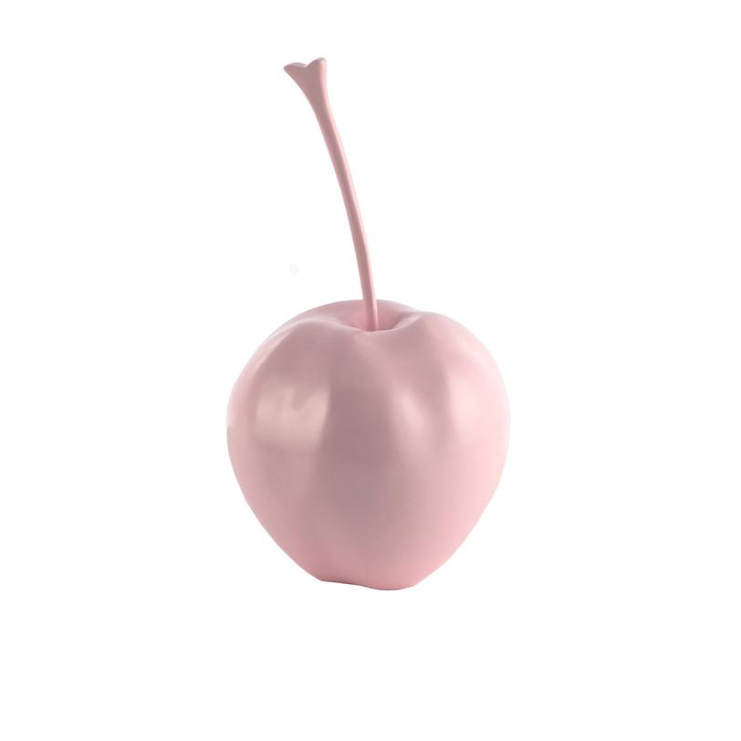 Декор Apple PinkСтатуэтки<br>Оригинальный элемент декора в форме яблока от бренда MY HOUSE.<br><br>Объем: 0,041 м3<br><br>Material: Пластик<br>Length см: None<br>Width см: None<br>Height см: 24<br>Diameter см: 20