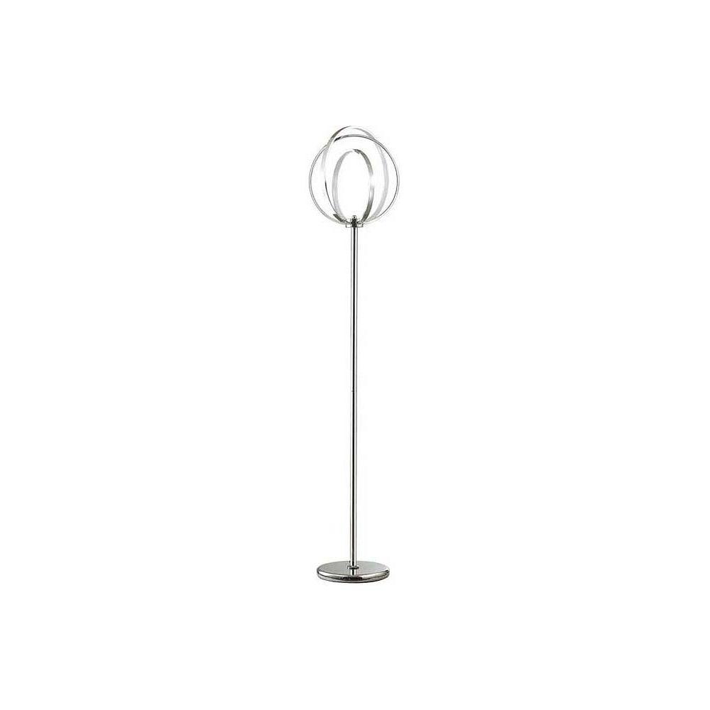 Торшер AlfiТоршеры<br>Мощность - 63.6W Цоколь - LEDОбщее кол-во ламп - 1 (в комплекте)Материал плафонов и подвесок - металл, полимерМатериал арматуры - металл