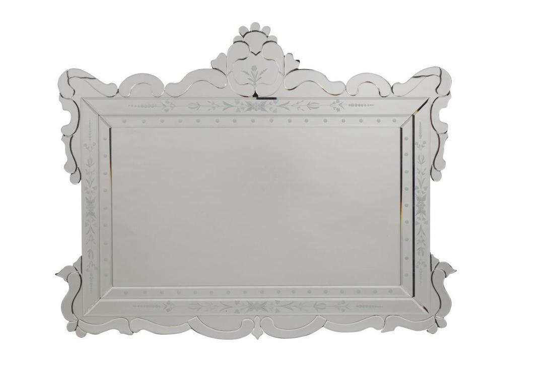 Зеркало PandoraНастенные зеркала<br>Большое, удобное и роскошное зеркало &amp;quot;Pandora&amp;quot; – современный, ярко выраженный предмет интерьера. Благодаря размерам аксессуар визуально увеличит пространство комнаты, будь то шикарная гостиная или уютная спальня.<br><br>Material: МДФ<br>Length см: 115.0<br>Width см: 90.0<br>Depth см: None<br>Height см: None<br>Diameter см: None