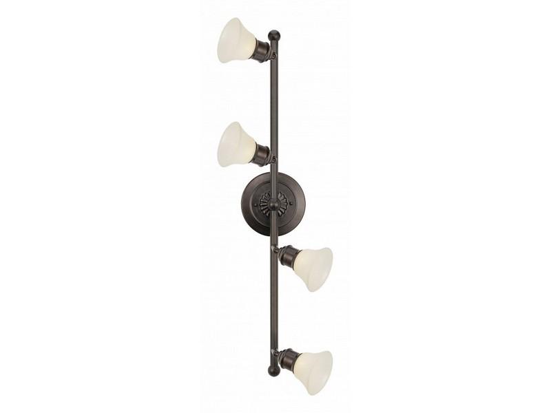 Спот AlamoСпоты<br>Мощность: 40WЦоколь: G9Общее кол-во ламп: 4 (в комплекте)Материал: металл, стекло