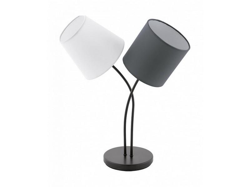 Настольная лампа almeida (eglo) серый 18x47x38 см. фото
