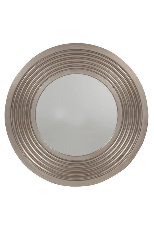 Зеркало JadoreНастенные зеркала<br>Утонченное и изысканное зеркало &amp;quot;Jadore&amp;quot; достаточно внушительного размера украсит при этом как маленькую уютную комнату, так и большую просторную гостиную, привнеся дополнительный уют, тепло, роскошь.<br><br>Material: Полистоун<br>Length см: 102<br>Width см: 102<br>Depth см: 6.2