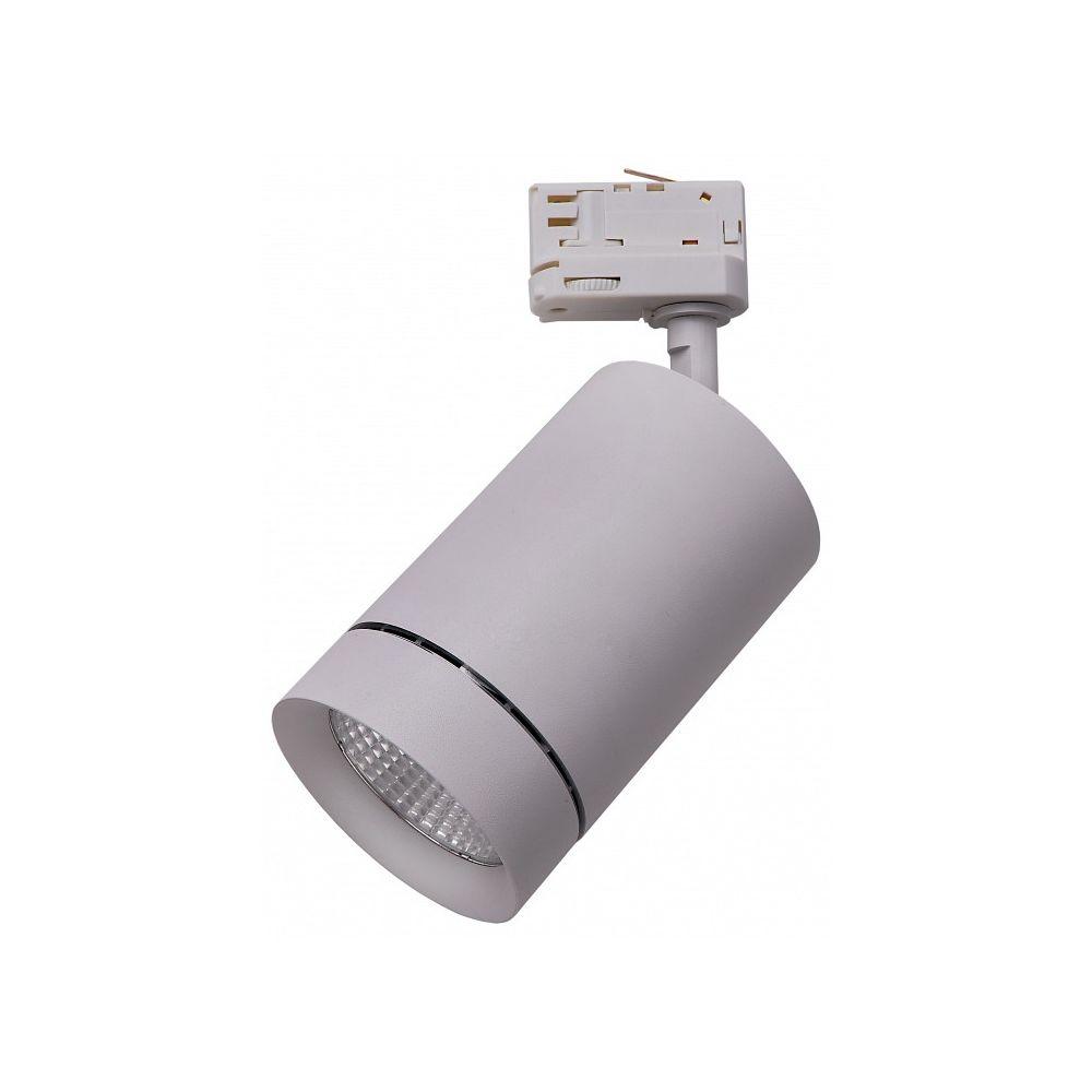 Спот canno (lightstar) серый фото