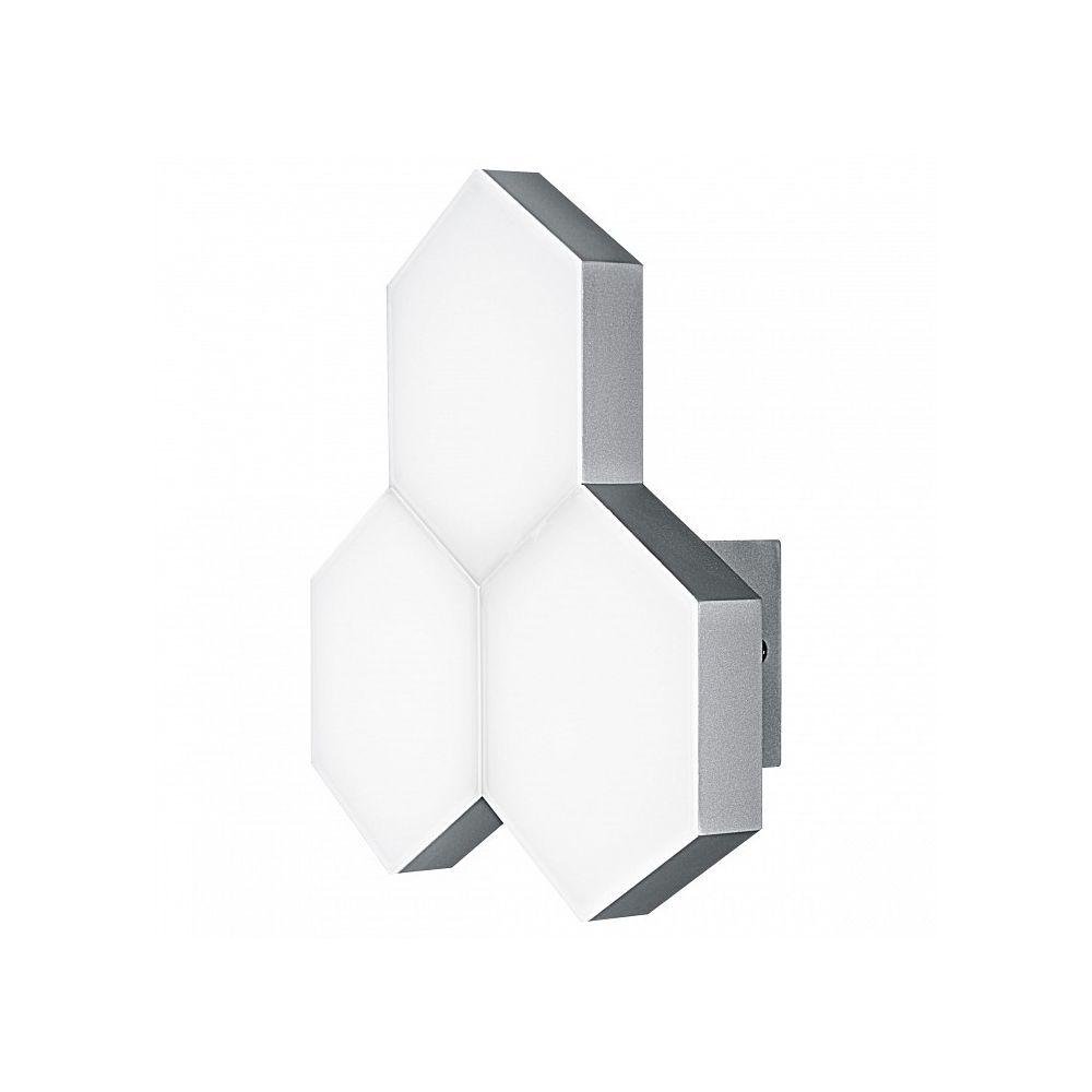 Накладной светильник favo led (lightstar) белый 26x26x8 см. фото
