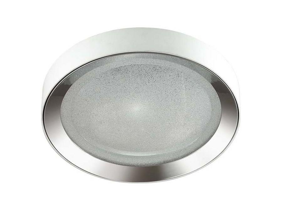 Накладной светильник TenoПотолочные светильники<br><br>Вид цоколя: LED<br>Мощность:  57W<br>Количество ламп: 1 (в комплекте)<br>Материал плафонов и подвесок - полимерМатериал арматуры - металл<br>