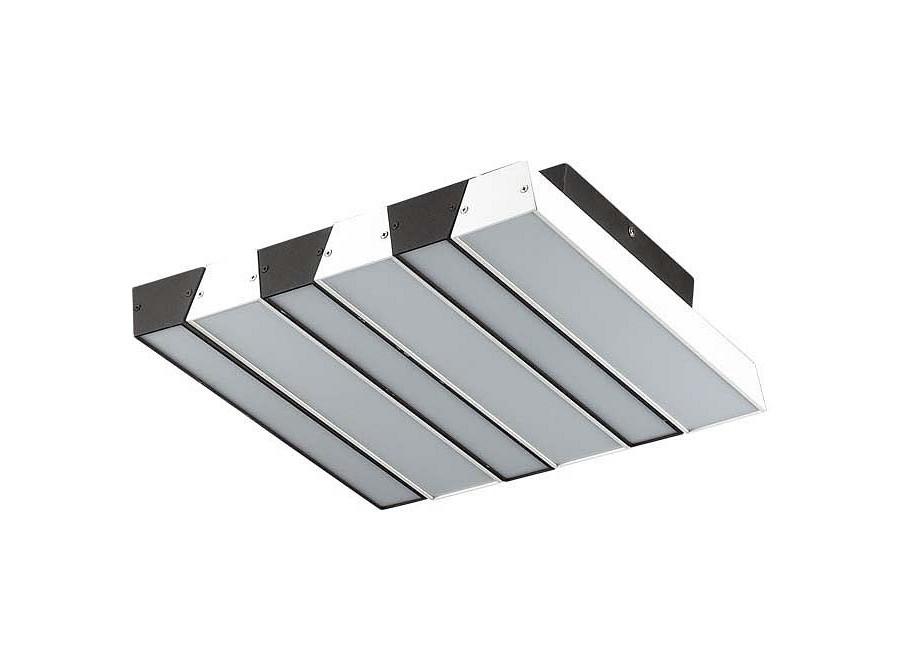 Накладной светильник PianoПотолочные светильники<br><br>Вид цоколя: LED<br>Мощность:  46W<br>Количество ламп: 1 (в комплекте)<br>Материал плафонов и подвесок - акрилМатериал арматуры - металл