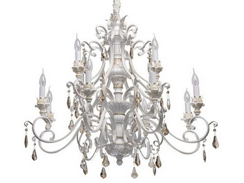 """Купить Подвесная люстра """"версаче"""" (Chiaro) белый металл 282 см. 88987 в интернет магазине. Цены, фото, описания, характеристики, отзывы, обзоры"""