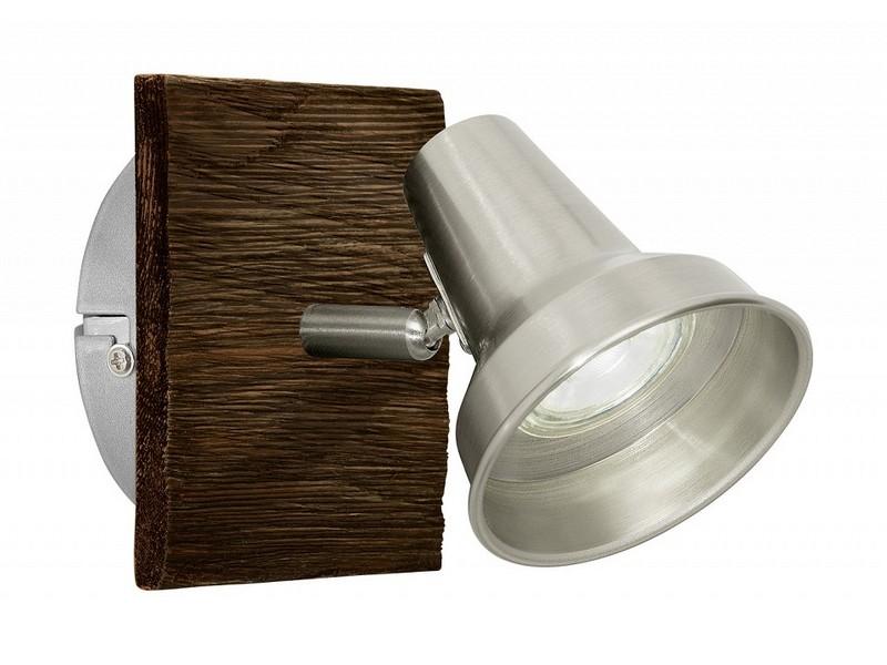 Спот filipina (eglo) серебристый 12x12 см. фото