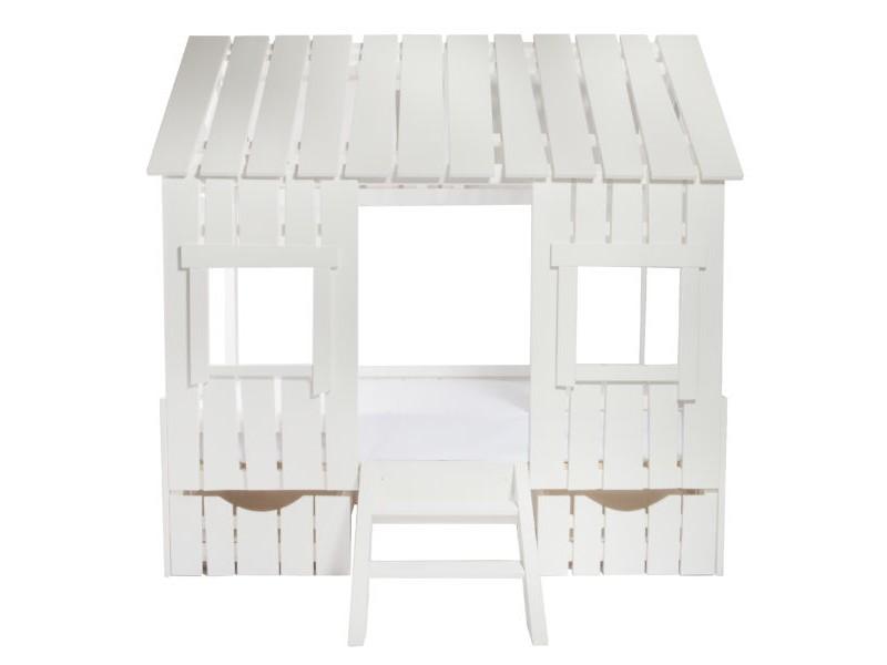 Moonsters Кроватка-дом с выдвижными ящиками
