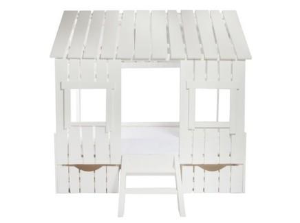Кроватка-дом с выдвижными ящиками