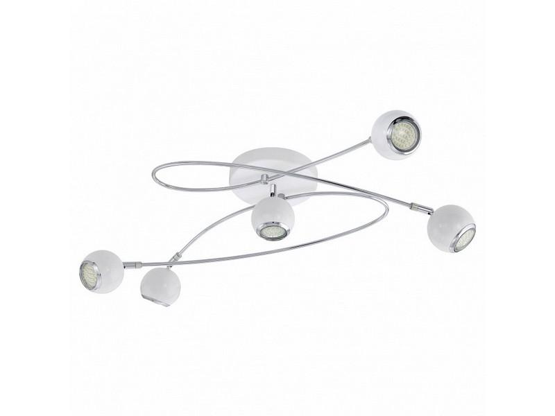 Светильник LocandaПотолочные светильники<br>Мощность: 3W <br>Цоколь: GU10 <br>Общее кол-во ламп: 5 (в комплекте)Материал: металл