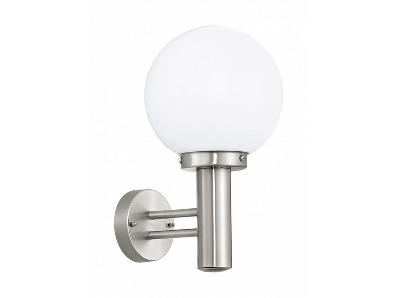 Светильник на штанге NisiaБра<br>Мощность: 60W <br>Цоколь: E27 <br>Общее кол-во ламп: 1 (нет в комплекте)Материал: стекло, сталь