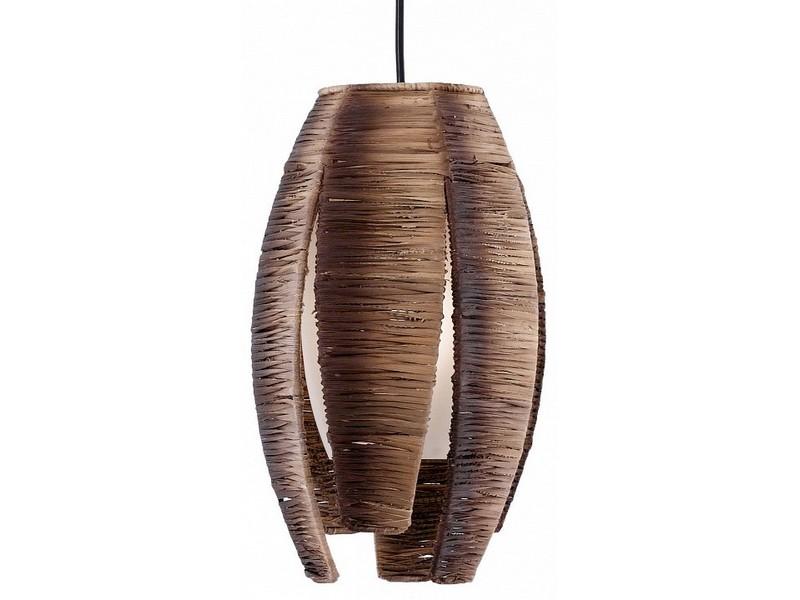 Подвесной светильник MonguПодвесные светильники<br>Мощность: 60W Цоколь: E27 Общее кол-во ламп: 1 (нет в комплекте)Материал: дерево, стекло, металл
