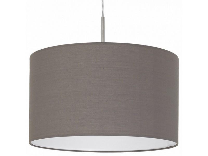 Подвесной светильник PasteriПодвесные светильники<br>Мощность: 60W Цоколь: E27 Общее кол-во ламп: 1 (нет в комплекте)Материал: лен, сталь