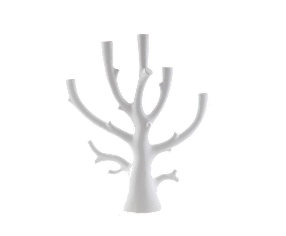 Подсвечник декоративныйПодсвечники<br>Материал: фаянс<br><br>Material: Керамика<br>Length см: 41<br>Width см: 12.5<br>Height см: 48
