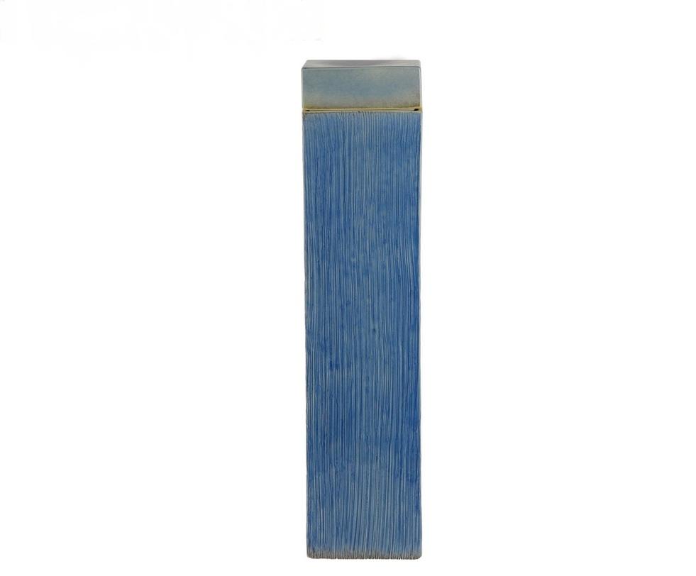 Ваза декоративная с крышкойВазы<br><br><br>Material: Фарфор<br>Length см: 14<br>Width см: 14<br>Height см: 56