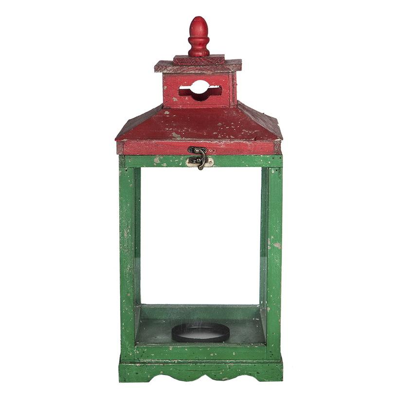 Набор подсвечников RoomersПодсвечники<br>Подсвечник из дерева в винтажном стиле с характерными потертостями на краске и ярким красно-зеленым окрасом. Два украшения интерьера с резными деталями и миниатюрными замками.<br>Набор состоит из 2 предметов<br><br>Material: Дерево<br>Length см: 24.0<br>Width см: 24.0<br>Height см: 55.0