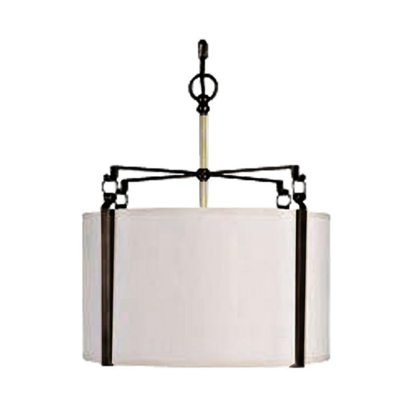 Люстра ClampЛюстры подвесные<br>&amp;lt;div&amp;gt;&amp;quot;Clamp&amp;quot; ? элегантная лампа весьма популярного сегодня силуэта. Она имеет роскошный круглый абажур с минимальным декором. Поддерживаемый черными металлическими зажимами, он смотрится весьма стильно за счет присутствующего в оформлении контраста. Такая лампа органично впишется как в классический, так и современный интерьер столовой, кабинета, гостиной или лаунжа.&amp;lt;/div&amp;gt;&amp;lt;div&amp;gt;&amp;lt;br&amp;gt;&amp;lt;/div&amp;gt;&amp;lt;div&amp;gt;Вид цоколя: E27&amp;lt;/div&amp;gt;&amp;lt;div&amp;gt;Мощность: &amp;amp;nbsp;60W&amp;lt;/div&amp;gt;&amp;lt;div&amp;gt;Количество ламп: 3 (нет в комплекте)&amp;lt;/div&amp;gt;<br><br>Material: Металл<br>Length см: None<br>Width см: None<br>Height см: 55<br>Diameter см: 48