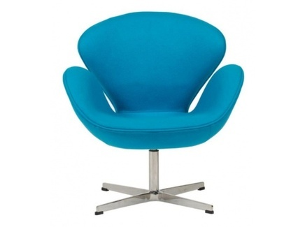 "Кресло ""Swan Chair Blue"""