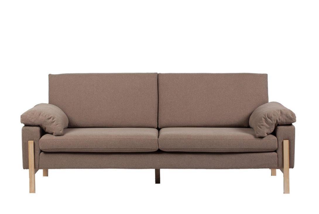 Диван Como SofaТрехместные диваны<br>Изысканный диван Como Sofa станет превосходным украшением вашей гостиной или любой другой комнаты дома. Цветовое и дизайнерское решение позволяют такому предмету мебели украсить собой как классический, так и современный интерьер, а благодаря размерам диван не будет делать комнату громоздкой и даже наоборот – поможет визуально сделать пространство больше. Удобный и мягкий – он непременно вам понравится.<br>Материал: ткань, поролон, деревянное основание, деревянные ножки<br><br>Material: Текстиль<br>Length см: 200<br>Width см: 85<br>Height см: 80